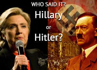 Hitler or Hillary